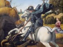 1665_60х46_Рафаэль - Святой Георгий и дракон
