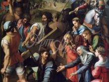 1669_80х58_Рафаэль - Падение Христа на пути к Голгофе