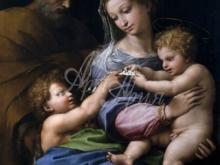 1673_80х63_Рафаэль - Святое семейство с маленьким Иоанном Крестителем