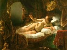 1132_80х72 Рембранд - Даная