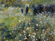1389_100х119_Ренуар О. - Дама с зонтиком в саду