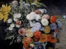 1423_85х70_О. Ренуар - Цветы в глиняном горшке