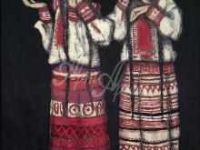 2135_50x36_Н.К. Рерих - Две девушки