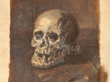 2137_50x42_Н.К. Рерих - Этюд черепа