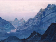 2149_40x27 Рерих «Гималаи.Этюд»