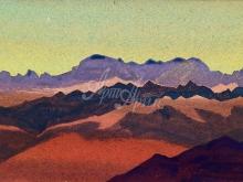2150_40x26 Рерих «Гималаи. Около Сандахпу»