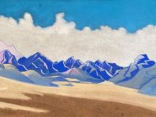 2170_40x26 Рерих «Каракорум. Путь на Туркестан»