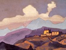 2191_40x26 Рерих «Монастырь.Тибет»