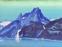 2197_40x26 Рерих «Озеро Нагов. Кашмир»
