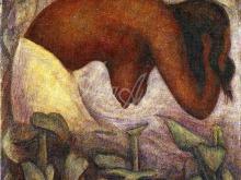 1235_30x25 Ривьера Д. - Купальщица Теуантепека