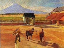 diego-rivera-la-era-the-threshing-floor-1904-oil-on-canvas