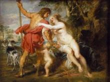 1843_100х124_П.П.Рубенс - Венера и Адонис