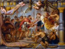 1844_100х127_П.П.Рубенс - Встреча Авраама и Мелхиседека