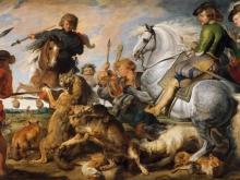 Рубенс Питер Пауль. Охота на волка и лису