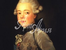 2041_40x27 Портрет - Портрет павла Первого в детстве