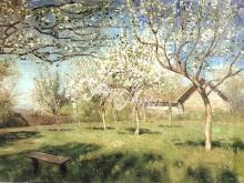 2078_75х54_Левитан И.И. -Цветущие яблони