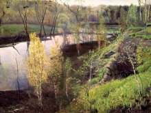 2086_44x30_И.С.Остроухов  - Первая зелень