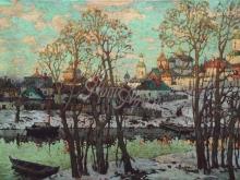 2314_60х38 К. И. Горбатов - Городской пейзаж