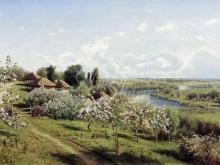 2324_80х46_Н. А. Сергеев - Яблони в цвету. В Малороссии