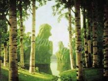 2366_40х28 А.И. Куинджи - Березовая роща.1901