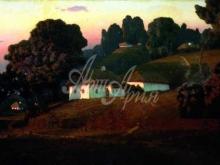 2371_85х41 А.И. Куинджи - Вечер на Украине