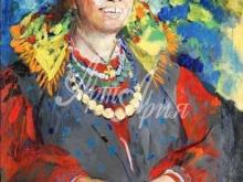 2379_40х28_Ф. А. Малявин - Смеющаяся баба. 1939г.