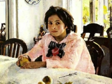 2392_55х49_В.А.Серов - Девочка с персиками