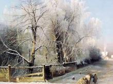 2419_70х53_А. К.Саврасов  - Зимний пейзаж