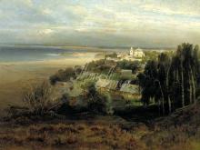 2420_70х55_А. К.Саврасов  - Печерский монастырь под Нижним Новгородом