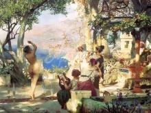 2426_65х34_Г. И. Семирадский - Танец среди мечей