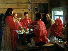 2449_65х46_И.С.Куликов - В крестьянской избе. 1902