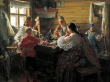 2450_60х49_И.С.Куликов - Зимним вечером. 1907