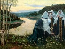2499_60х39_М. В. Нестеров - Девушки на берегу