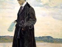 2502_45х45_М. В. Нестеров - Мыслитель. Портрет Ивана Александровича Ильина