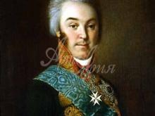 2512_50х40_И. П. Аргунов - Портрет графа Николая Петровича Шереметева