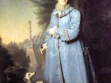 2520_60х40_В. Л. Боровиковский - Екатерина II на прогулке в Царскосельском парке