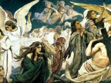 2540_70х30_В.М. Васнецов - Радость праведных о Господе (левая часть)