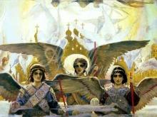 2541_70х30_В.М. Васнецов - Радость праведных о Господе (цетральная часть)