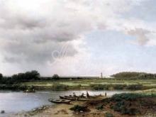 2551_70х38_Л.Л. Каменев - Вид на реку Казанку