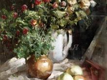 2579_50х41_Ю.Ю. Прядко_Натюрморт с яблоками