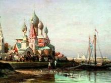 2607_80х47_А. П. Боголюбов - Крестный ход в Ярославле