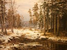 2082_И.И. Шишкин - Первый снег