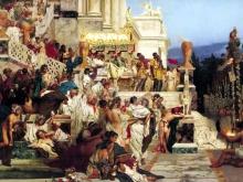 2427_65х35_Г. И. Семирадский - Светочи христианства (Факелы Нерона)