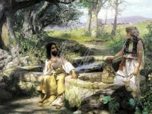 2428_65х36_Г. И. Семирадский - Христос и самарянка