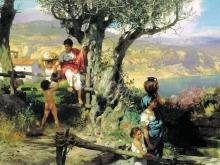2430_65х44_Г. И. Семирадский - Рим. Деревня