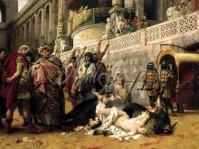 2431_70х34_Г. И. Семирадский - Христианская Дирцея в цирке Нерона