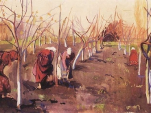 zinaida-serebriakova-digging-trees-in-the-garden