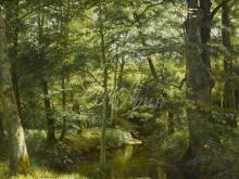 2336_70х40_А.Н. Шильдер - Лесной пейзаж