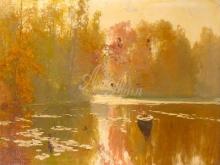 2341_70х53_А.Н.Шильдер - Осень. Рыбалка