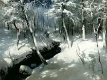 2349_65х48_А.Н. Шильдер - Ручей в лесу